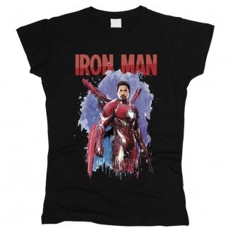 Iron Man 02 - Футболка женская