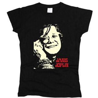Janis Joplin 01 - Футболка женская