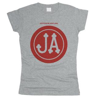 Jefferson Airplane 01 - Футболка женская