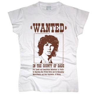 Jim Morrison 03 - Футболка женская