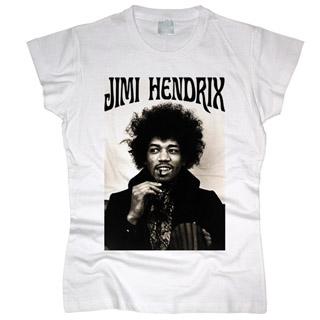 Jimi Hendrix 01 - Футболка женская
