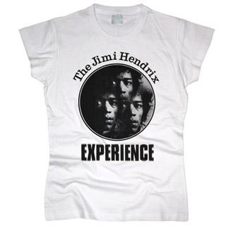 Jimi Hendrix 02 - Футболка женская
