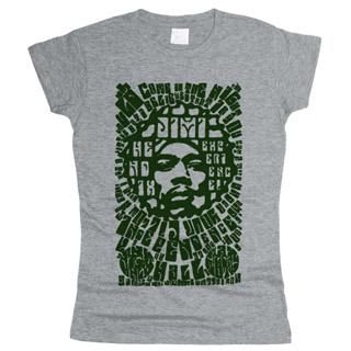 Jimi Hendrix 03 - Футболка женская