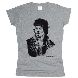 Jimi Hendrix 04 - Футболка женская