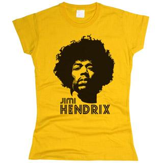 Jimi Hendrix 05 - Футболка женская