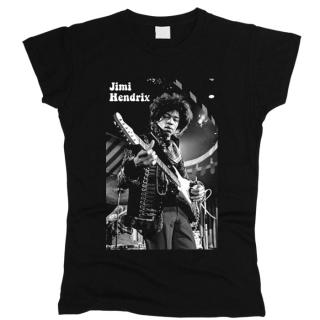Jimi Hendrix 06 - Футболка женская