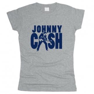 Johnny Cash 01 - Футболка женская