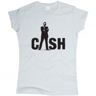 Johnny Cash 02 - Футболка женская