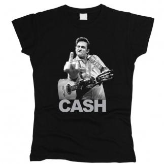 Johnny Cash 03 - Футболка женская