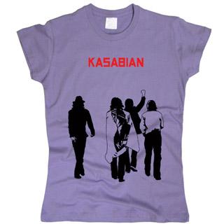 Kasabian 03 - Футболка женская