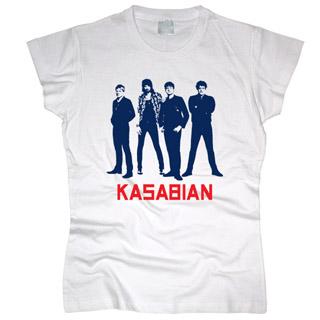 Kasabian 04 - Футболка женская