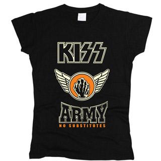 Kiss 01 - Футболка женская