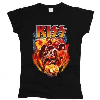 Kiss 05 - Футболка женская