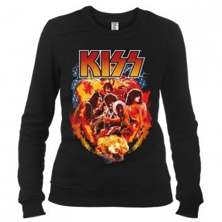 Kiss 05 - Свитшот женский