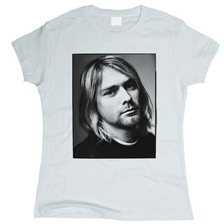 Kurt Cobain 01 - Футболка женская