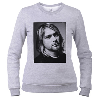 Kurt Cobain 01 - Свитшот женский