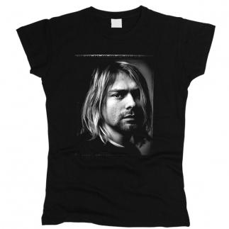 Kurt Cobain 02 - Футболка женская