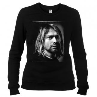 Kurt Cobain 02 - Свитшот женский