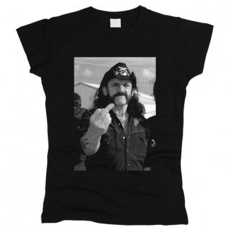 Lemmy Kilmister 01 - Футболка женская