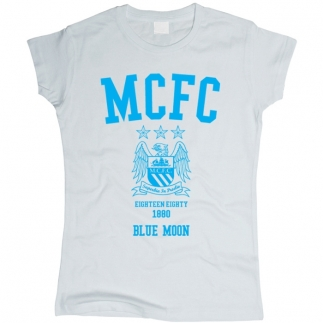 Manchester City 01 - Футболка женская
