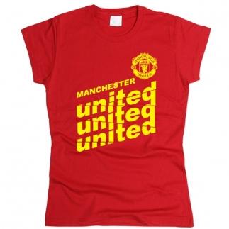 Manchester United 05 - Футболка женская