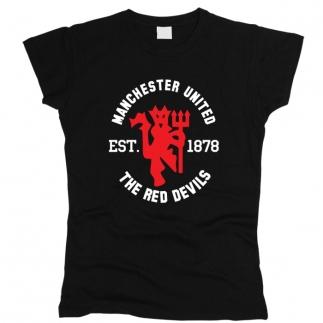 Manchester United 01 - Футболка женская