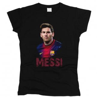 Messi 01 - Футболка женская