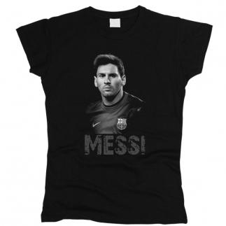 Messi 02 - Футболка женская