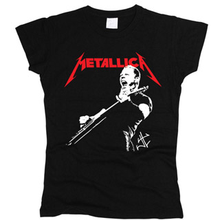 Metallica 01 - Футболка женская