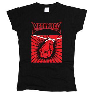 Metallica 03 - Футболка женская