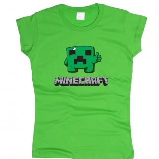 Minecraft 01 - Футболка женская