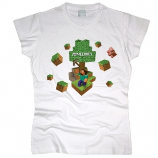 Minecraft 02 - Футболка женская