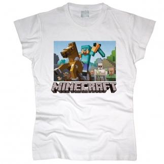 Minecraft 03 - Футболка женская
