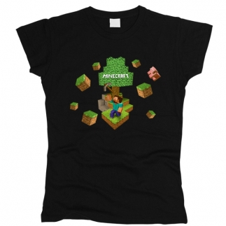 Minecraft 04 - Футболка женская
