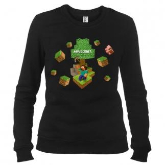 Minecraft 04 - Свитшот женский