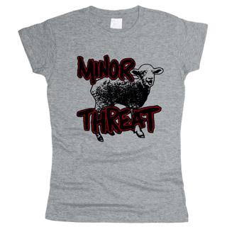 Minor Threat 04 - Футболка женская