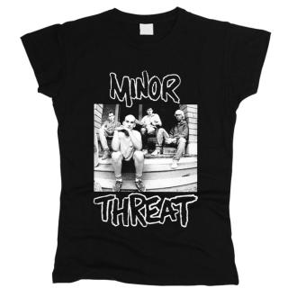 Minor Threat 06 - Футболка женская