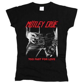 Motley Crue 05 - Футболка женская