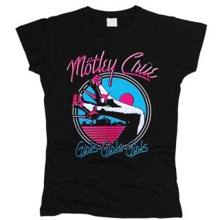 Motley Crue 06 - Футболка женская