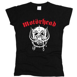 Motorhead 01 - Футболка женская