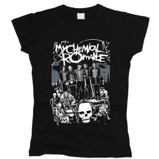My Chemical Romance 05 - Футболка женская