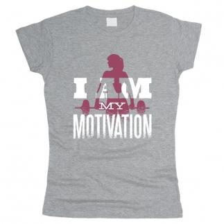 I Am My Motivation 01 - Футболка женская