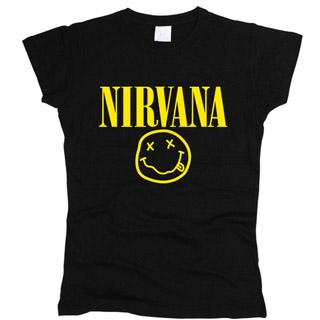 Nirvana 01 - Футболка женская