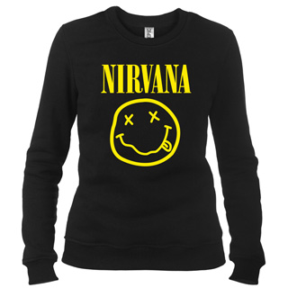 Nirvana 02 - Свитшот женский