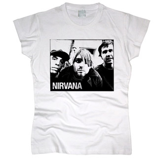 Nirvana 05 - Футболка женская