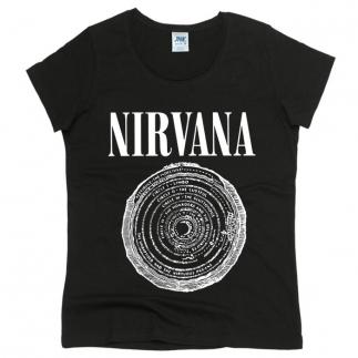 Nirvana 06 - Футболка женская оверсайз