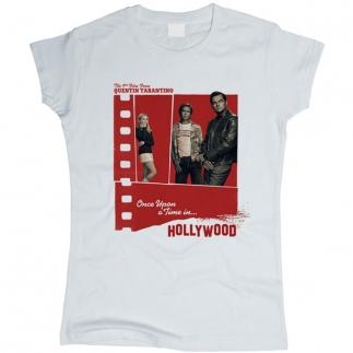 Однажды в Голливуде 01 - Футболка женская