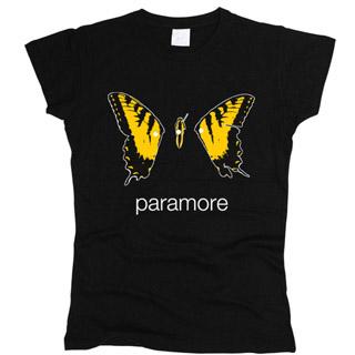Paramore 01 - Футболка женская