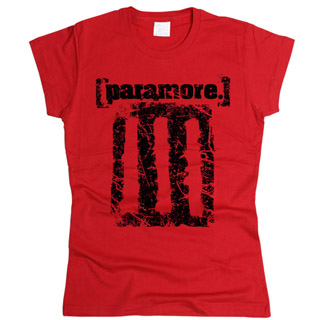 Paramore 02 - Футболка женская
