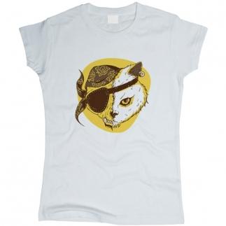Pirate Cat 01 - Футболка женская